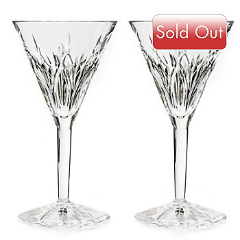 431-337 - Waterford® Crystal Set of Two Killoran Cocktail Glasses