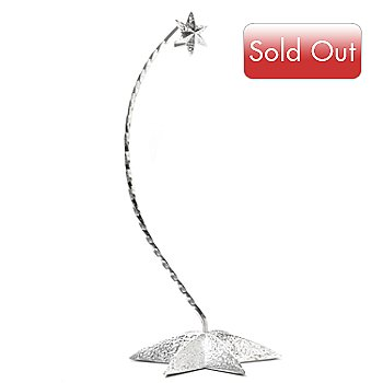 431-540 - Waterford® Crystal 10'' Silver Star Ornament Stand