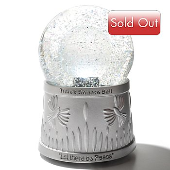 431-541 - Waterford® Crystal Limited Edition 4'' Times Square 2013 Snow Globe