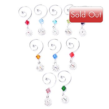 431-756 - Waterford® Crystal Snowflake Wishes Set of 10 Wine Charms