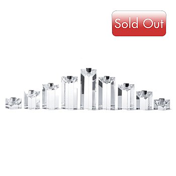 431-771 - Marquis® by Waterford® Nine-Piece Menorah