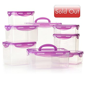 431-959 - LockStar® Eight-Piece Rectangular Storage Set