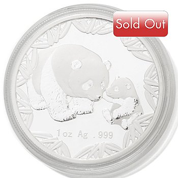432-407 - 2012 1 oz Silver Proof BU ANA China Panda Coin w/ Display Box