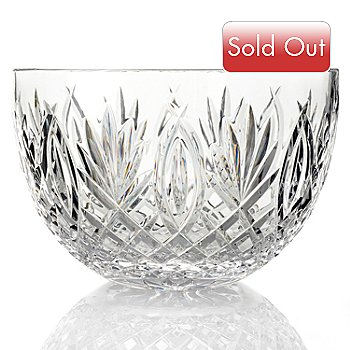 432-523 - Waterford® Crystal Granville 10'' Bowl -Signed by Jorge Perez