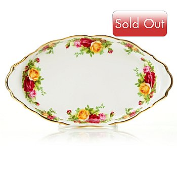 432-566 - Royal Albert® Old Country Roses 10'' Bone China Regal Tray