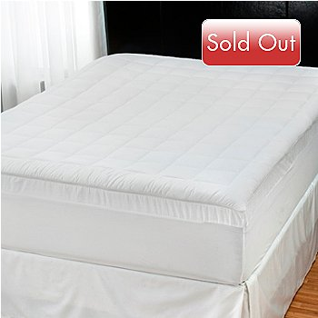 432-620 - Comfort Revolution® 3'' Memory Foam Core Down Alternative Topper w/ Cover