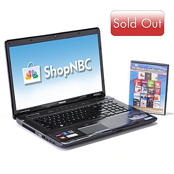 432-632 - Toshiba Satellite 17'' AMD Quad-Core 6GB RAM/750GB HD Notebook w/ Software Suite