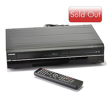 432-643 - Toshiba Upconversion DVD & VHS Player/Recorder