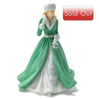 432-825 - Royal Doulton® Silver Bells 6.7'' Bone China Figurine