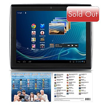 433-146 - LePan II 9.7'' GOOGLE CERTIFIED 8GB Android 4.0.4 Tablet w/ 25 App Titles