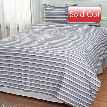 433-702 - Cozelle® Micro Flannel® Three-Piece Comforter Set