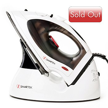 434-335 - Smartek 1200W Cord-Cordless Steam Iron
