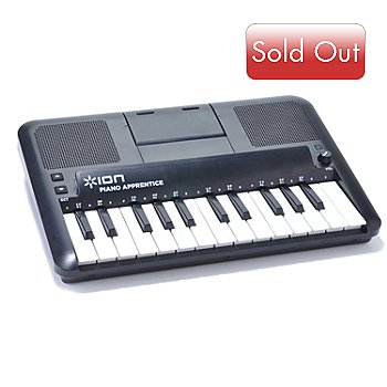 434-511 - ION® Piano Apprentice 25-Note Keyboard Learning System for iPad, iPod & iPhone