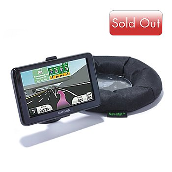 434-664 - Garmin nüvi 2555LM 5'' TFT Screen GPS w/ Nav-Mat Mount
