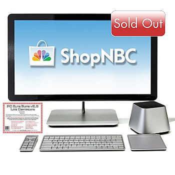 434-808 - Vizio 27'' HD LED Intel™ Core i3 4GB RAM/1TB HD All-in-One Desktop w/ Software Suite