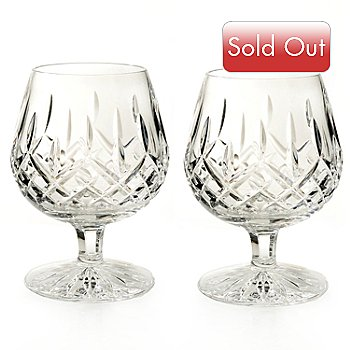 434-828 - Waterford® Crystal Lismore Set of Two 12 oz. Boxed Brandy Glasses