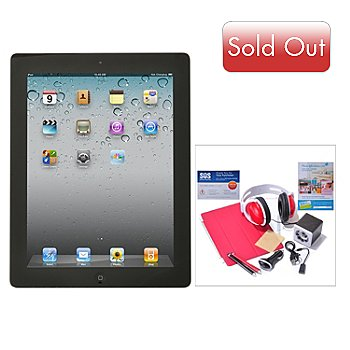 434-839 - New Apple iPad 4th Generation Retina Display Wi-Fi & 4G Tablet w/ Accessories