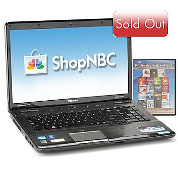 434-906 - Toshiba 17.3'' LED Intel™ Core i5 6GB RAM/750GB HD Notebook w/ Software