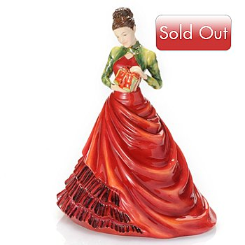 434-957 - Royal Doulton® Pretty Ladies Petite of the Year 2012 7'' Bone China Figurine