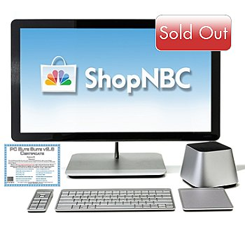434-986 - Vizio 27'' HD LED Intel™ Core i5 4GB RAM/1TB HD All-in-One Desktop w/ Software Suite