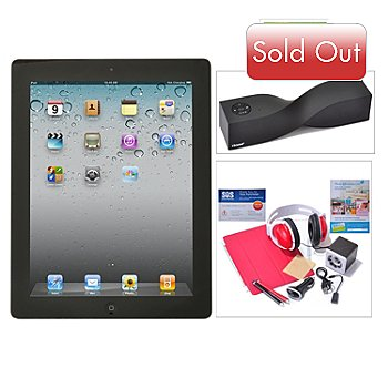 435-012 - New Apple iPad 4th Generation Retina Display Wi-Fi Only Tablet w/ Accessories