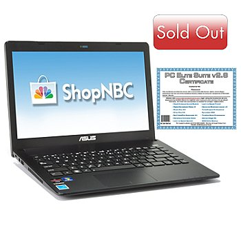 435-122 - ASUS® 14'' AMD® Brazos 4GB RAM/320GB HD Notebook w/ Software