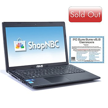 435-435 - ASUS® 15.6'' Intel® Dual-Core 4GB RAM/320GB HD Notebook w/ Software