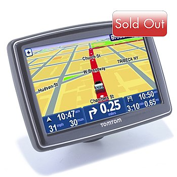 435-540 - TomTom XXL 550T 5'' Touchscreen GPS w/ Lifetime Traffic Updates