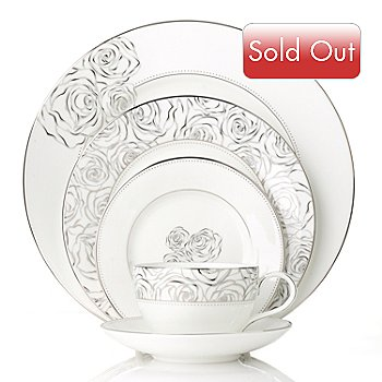 436-088 - Waterford® Crystal Monique Lhuillier Sunday Rose Five-Piece Place Setting
