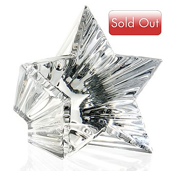 436-203 - Waterford® Crystal Shining Star 3'' Paperweight