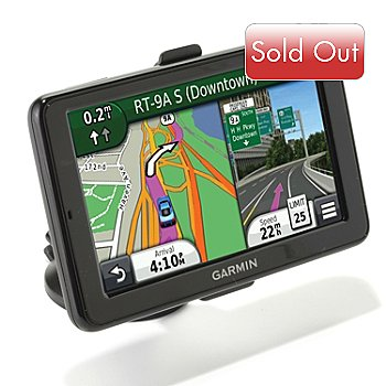 436-303 - Garmin nüvi 2595LMT 5'' Touch HD Bluetooth® GPS w/ Lifetime Maps & Traffic