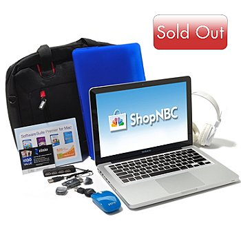 436-555 - Apple® MacBook Pro® 13'' Intel Core i5 Notebook w/ Accessories