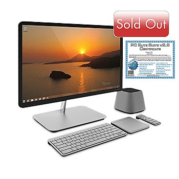 436-560 - Vizio 24'' HD LED Intel® Core™ i3 4GB RAM/500GB HD All-in-One Desktop w/ Software Suite