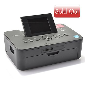 436-785 - Canon Selphy Compact Photo Wi-Fi Printer w/ Extra Ink, Paper & Software