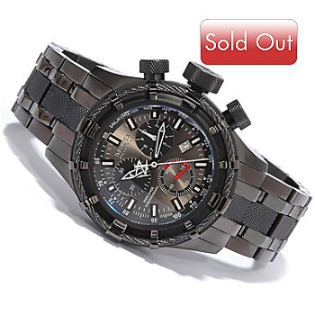 602-151 - Invicta Reserve Men's Bolt Swiss Quartz Chronograph Black Stainless Steel Watch