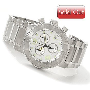 602-794 - Invicta Reserve Men's Ocean Reef Swiss Made Chronograph Bracelet Watch