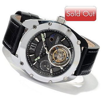 604-449 - Android Men's Limited Edition Virtuoso Tourbillon Strap Watch