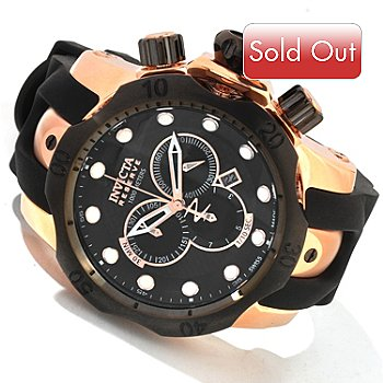 604-625 - Invicta Men's Reserve Venom Swiss Quartz Polyurethane Strap Watch