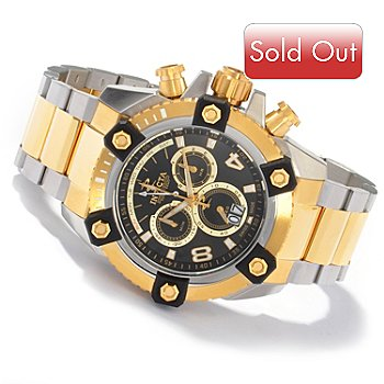 604-630 - Invicta Reserve Men's Arsenal Swiss Big Date Stainless Steel Bracelet Watch