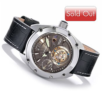 604-898 - Android Men's Virtuoso-45 Limited Edition Tourbillon Strap Watch