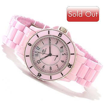 605-166 - Oniss Women's Ceramica Fuerte Collection Ceramic Bracelet Watch