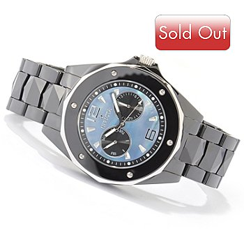 605-170 - Invicta Men's Ceramic Ocean Elite Quartz Day & Date Bracelet Watch