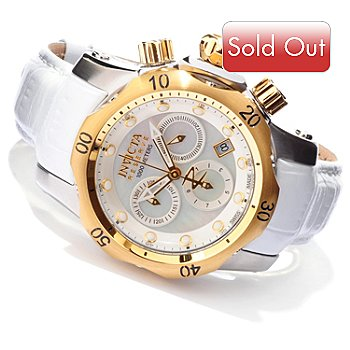 605-377 - Invicta Reserve Women's Venom Swiss Quartz Chronograph Strap Watch