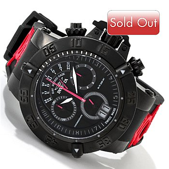 605-389 - Invicta Men's Subaqua Noma III Swiss Quartz Chronograph Strap Watch
