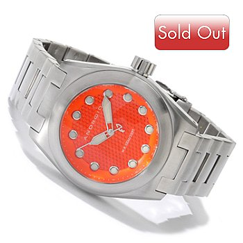 605-465 - Android Men's Antiforce 45 Quartz Stainless Steel Bracelet Watch