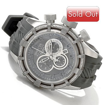 605-738 - Invicta Reserve Men's Bolt Sport Swiss Quartz Chronograph Strap Watch