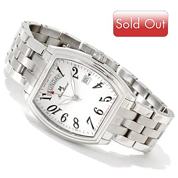 606-031 - Jean Marcel Men's Gravis Limited Edition Swiss Made Automatic Bracelet Watch