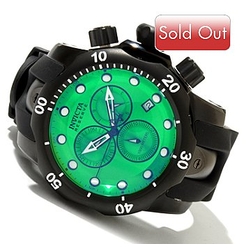 606-141 - Invicta Reserve Men's Venom Swiss Chronograph Watch w/ 8-Slot Dive Case