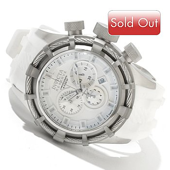 606-159 - Invicta Reserve Men's Bolt Swiss Quartz Chronograph Stainless Steel Strap Watch