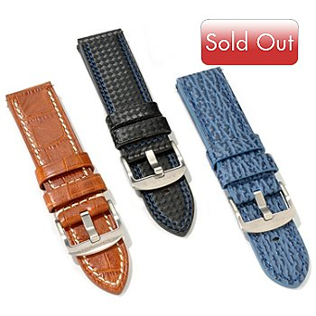 606-238 - Android Men's Set of Three 24mm Leather Straps